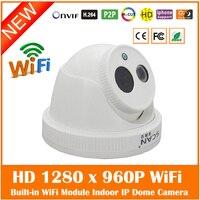 Motion Detect Full HD 1 3 MP 1280 960P IP Camera Built In WiFi H 264
