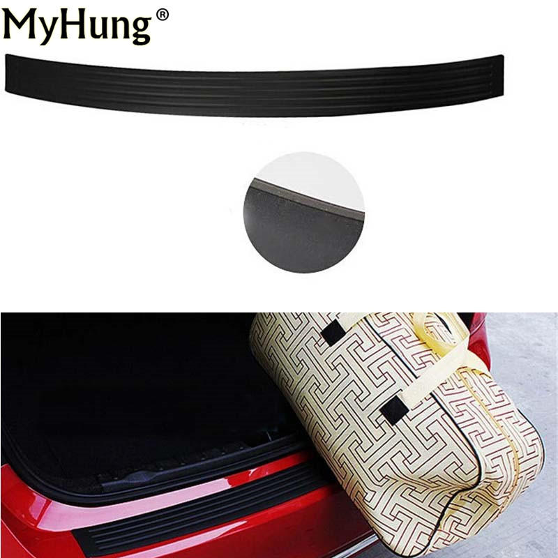 For Suzuki X5 Liana Alto Swift Antelope SX4 S-Cross Jimny Vitara Rear Bumper Plate Rear Door Sill Car Accessory Silicon 1Pc