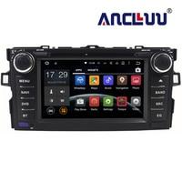 2G RAM Android 7.1 Car dvd Player For Toyota Auris 2006 2007 2008 2009 2010 2011 raido gps navigation car stereo