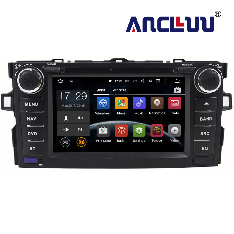 2G RAM Android 7 1 font b Car b font dvd Player For Toyota Auris 2006