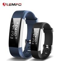 LEMFO ID115 HR Plus Smart Bracelet Fitness And Sleep Tracker Pedometer Heart Rate Monitor Smart Band