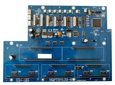 6head 35PL Printhead Board for Infiniti/Challenger Printer part printer auto cleaning panel board for infiniti challenger