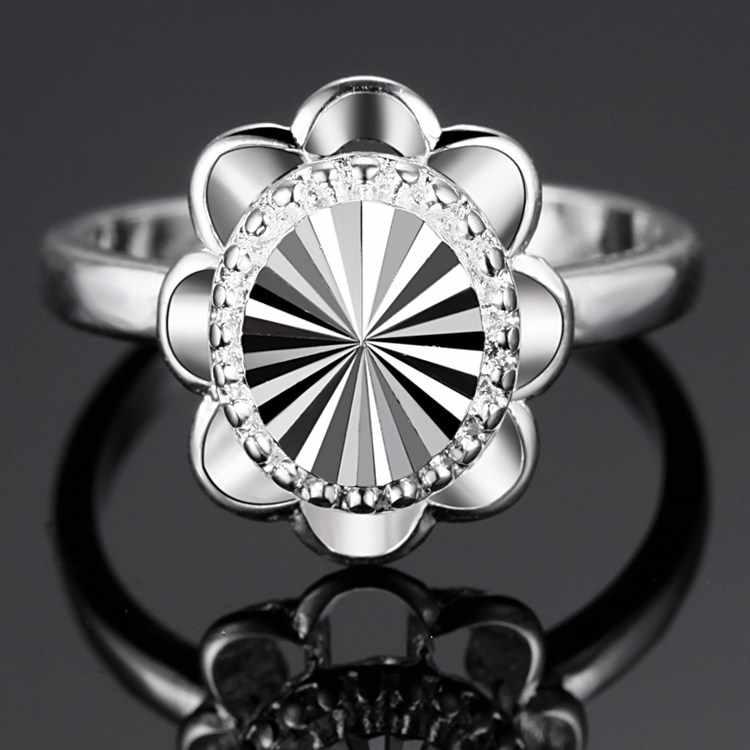 แหวน925เครื่องประดับแฟชั่นของขวัญแหวนเงินPJ194