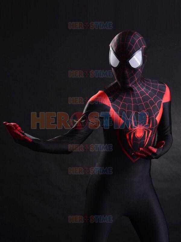 Nieuw Spiderman Kostuum 3D-printen Ultieme Miles Morales Superheld - Carnavalskostuums - Foto 3