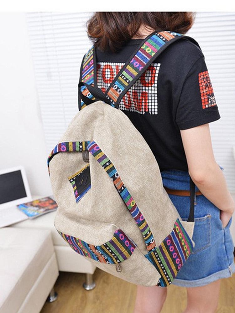 Vintage School Backpack 12