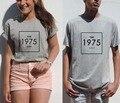 1975 Top Music indie rock banda engraçado t Unisex fosco Healy moderno moda camiseta mulheres homens verão