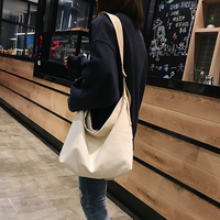 Canvas Bag Reusable Shopping Bags Grocery Tote Bag Cotton Daily Use Handbags 2019 New Women Casual Handbag