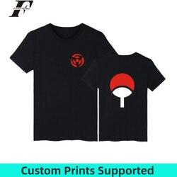 LUCKYFRIDAYF Naruto T koszula mężczyzna hokage ninjia koszulka z krótkim rękawem bawełna Uchiha Syaringan Tshirt śmieszne Anime moda niestandardowe 1