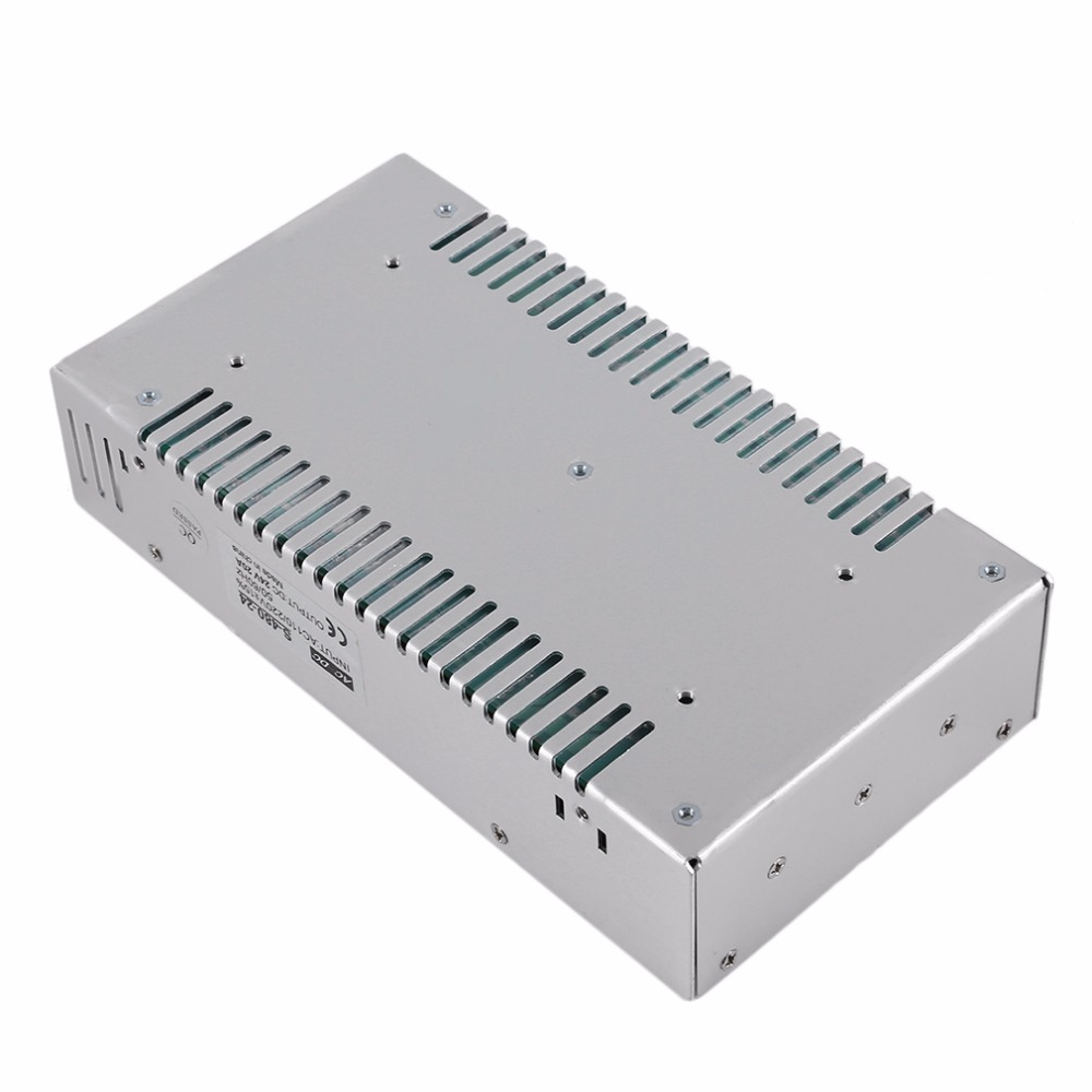 DC 24V 20A Voltage Transformer Switching Power Supply Switch for LED Strip Billboard Industrial Equipment  Hot Sale high voltage flyback transformer hy a 2 use for co2 laser power supply
