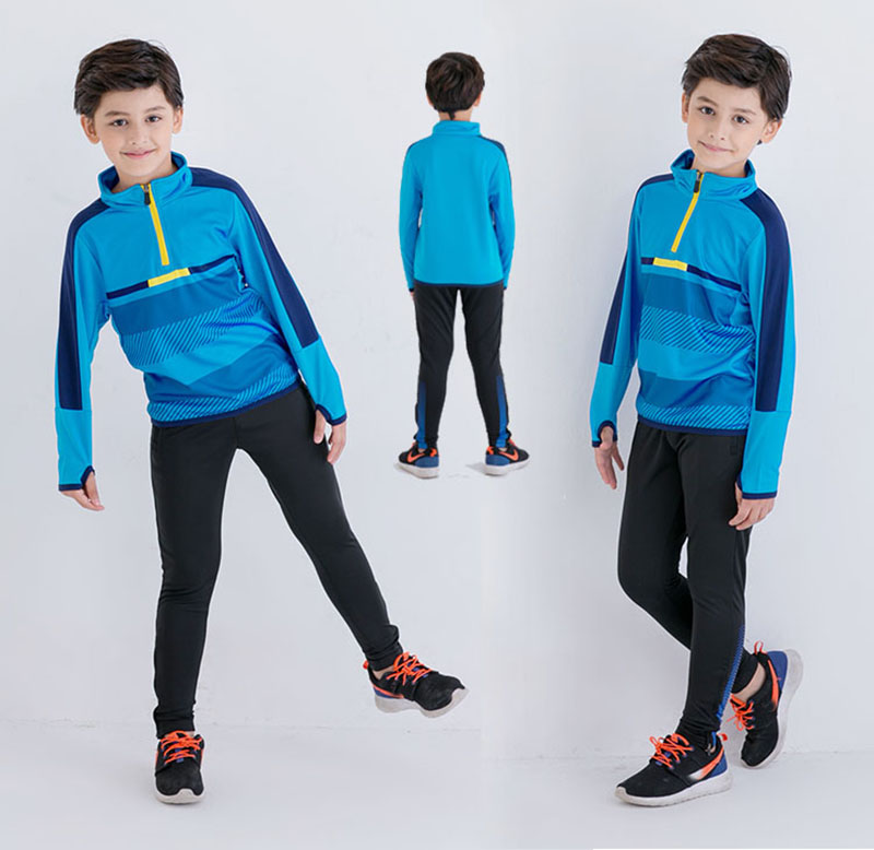 spring kids clothes boys survetement football 2017 girls children clothing soccer tracksuit outfits maillots de football sets. kelme top quality survetement football waterproof jackets soccer uniform athletics jogging training soccer champions windcoat 28