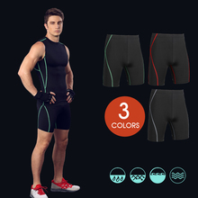 MASCUBE Mens Fitness Work Out Compression Tight Short Trousers Stretch Comfortable Quick Dry Shorts Men Brand Clothing