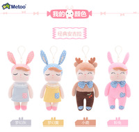 мини каваи плюшевые животных мультфильм дети игрушечные лошадки для обувь для девочек дети ребенок день рождения рождественский подарок ангела кролик кукла метоо