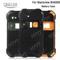 Blackview bv6000 caixa de bateria colorido bateria voltar substituição da tampa do caso original para blackview bv6000 acessórios para celular