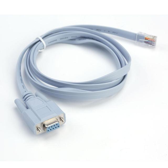 Offre spéciale réseau RJ45 à RS232 Port série DB9 femelle routeur rallonge Console câble adaptateur pour câble Cisco en vrac rouleau APE