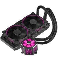 JONSBO CPU RGB Water Cooling Kit 240mm Radiator Heatsink Dual RGB Mode Motherboard AURA SYNC TW 240