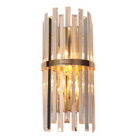 מבואה יוקרה האמריקנית חיים נורדי מנורת סוגר luminaire אור קיר זכוכית גביש המודרני מודרני קיר זהב אור מנורת מנורות קיר
