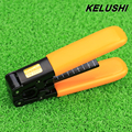 KELUSHI Naranja FTTH Cable Striping Alicates Pixian Fibra Óptica Stripping Tool Fibra Óptica Stripper