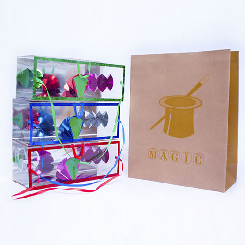 The Large Flower Box Production Dream Bag Magic Tricks Close Up Easy Magic Accessories Large Size