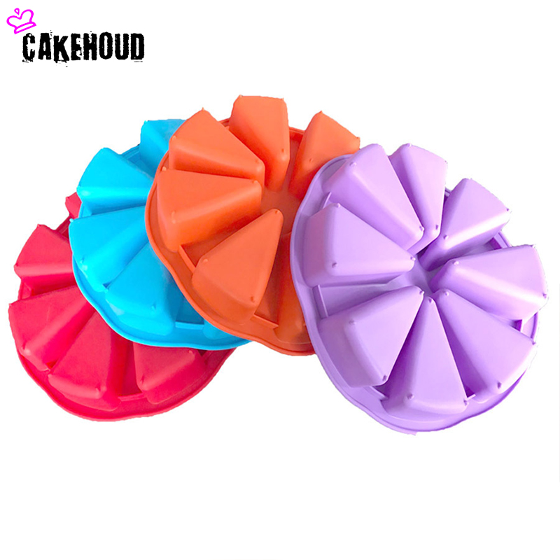 CAKEHOUD Kuchyně Kreativní doplňky Diy Cupcake Bake 8 dílů Si Kang Scone Forma mýdla Mýdlo plísně Velký kruh Meloun Mold