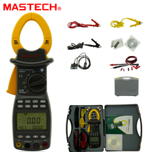 Best price MASTECH MS2205 Digital Power Clamp Meter Three Phase Harmonic Tester with RS232 Interface
