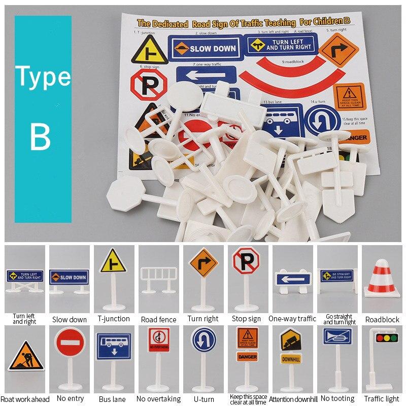18pc Traffic Sign B
