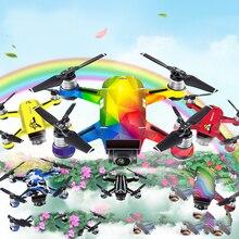 Для DJI Spark красочные чернила наклейки Drone Красочные защитный ПВХ 3 м кожного покрова Стикеры для DJI Spark Аксессуары для видео-квадрокоптеров