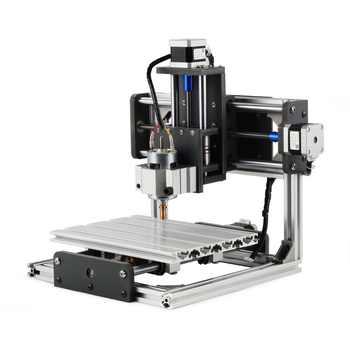CNC GRBL Control DIY CNC Machine, 3 Axis PCB PVC Milling Machine, Working Area 20x15x6.5cm, Wood Router, Carving Engraver