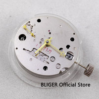 Classic ST2533 power reserve Mechanical GMT Automatic movement date display small second hand watch movement BM9