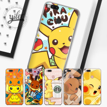 Купить с кэшбэком Coque Pocket Monsters for XiaoMi Mi 8 Case MI 5X 6 Case for Xiaomi Mi 5X Mi A1 6 Shell for RedMi 5 Plus 4X 5A Note 5 4X 5A case