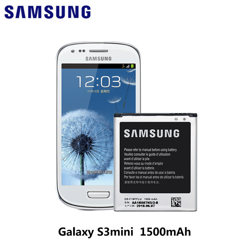 Original Samsung Battery for Samsung Galaxy S3 Mini 4-Pin 1500 mAh