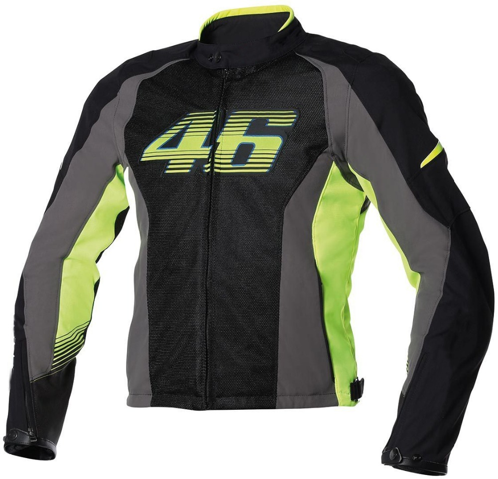New Dain VR46 Air-Tex Mesh Motorcycle jacket Valentino Rossi summer jacket moto gp racing jacket 2017 valentino rossi vr46 for yamaha racing blue motogp mens felpa zip up sweater
