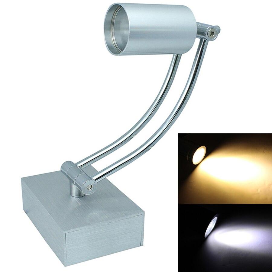 Bedside lamps wall mounted - 3w Flexible Led Wall Mounted Lamps 360 Degree Rotation Arm Light Led Reading Light Led Gooseneck
