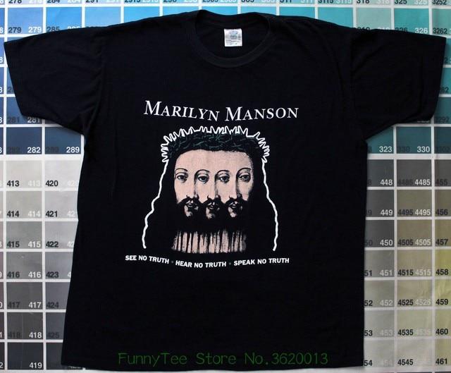 7c0f93429d75 Marilyn Manson Sweat Dream T Shirt Design Logo Reprint Usa Size S - m - l -  xl - xxl