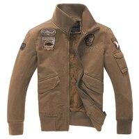 Hot outono inverno masculino além de veludo casaco do uniforme Dos Homens Magro ocasional Dos Homens jaqueta de algodão Moda Casual Bordado Jaqueta & casaco