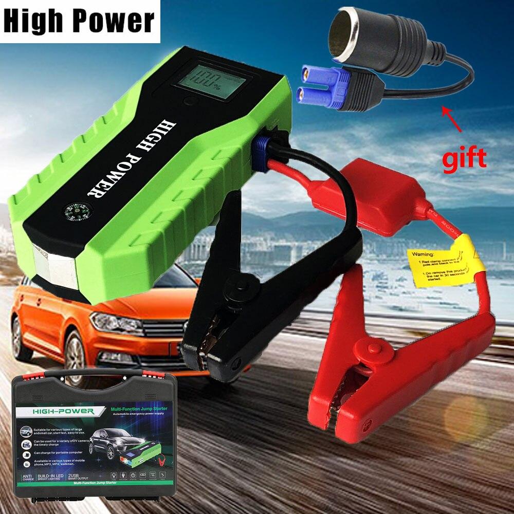 Haute Puissance 89800 mAh Dispositif de Démarrage 600A 12 V Portable Auto Jumper Starter Puissance chargeur de voiture pour la voiture amplificateur de batterie De Voiture Démarreur