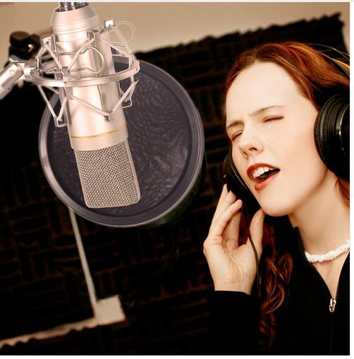Yarmee professional XLR handheld condenser recording microphone YR01 for studio best quality yarmee multi functional condenser studio recording microphone xlr mic yr01