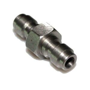 Image 5 - Новая пневматическая винтовка для пейнтбола, пневматическая винтовка для страйкбола PCP с двумя концами, 8 мм, переходник с быстроразъемным штекером, заполняющая Соска из нержавеющей стали с двойным штекером