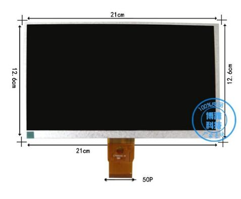 9inch TFT LCD LCM Display PANEL SCREEN 800*480 Tablet PC For HW8004800F YX090725 YX0900725-FPC PC YX0900725 ref hw800480f 4a 0a 30 40 hw800480f original 9 inch lcd lcm display panel screen 800 480 for allwinner a13 q9 q90 tablet pc