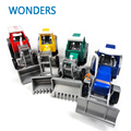 Promoción! aleación Glide agricultor de ingeniería van juguetes educativos coche tractor maquetas de juguete de los niños