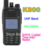 Kirisun K800 UHF 400 470MHz DPMR Digital Portable Two way Radio