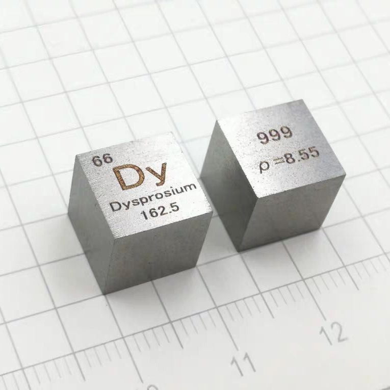 99 9 High Purity Dysprosium Dy 8 6g Carved Element Periodic Table 10mm Cube