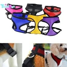 Transer perro arnés moda chaleco arnés de perro todas las estaciones Comfort Soft respirable perro Pet chaleco envío de la gota d7m30