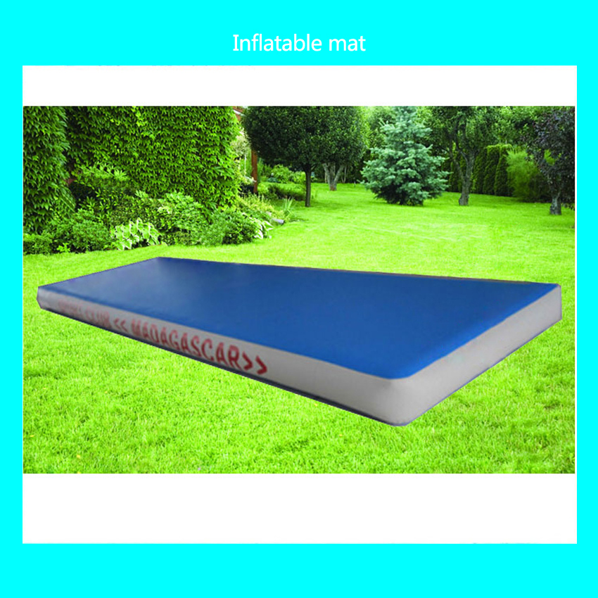 Tapis gonflable de gymnase de 1 PC 8*2 m, voie d'air gonflable