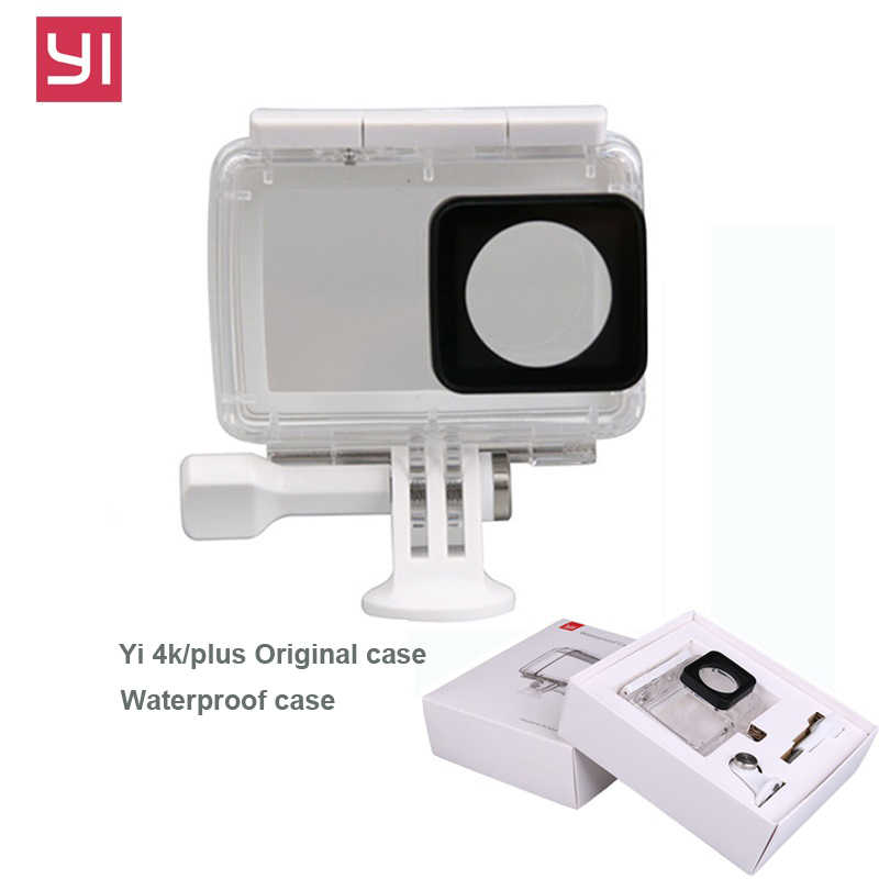YI 4K Case Diving Waterproof Housing for Original Xiaomi Yi Sports Camera Xiaoyi II 2 4K Case Xiao mi action camera accessories