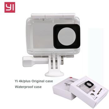YI 4K Case Diving Waterproof Housing for Original Xiaomi Yi Sports Camera Xiaoyi II 2 4K Case Xiao mi action camera accessories фото