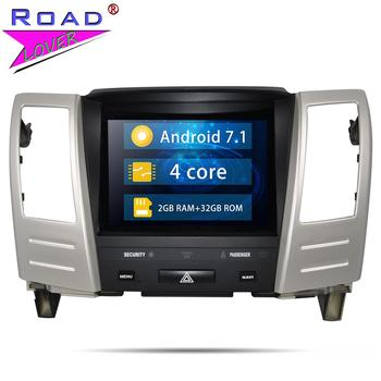 Android 7.1 8.4'' Car Radio For Lexus RX400H RX330 RX300 RX350 GPS Navigation Autoradio With Bluetooth Steering Wheel Control
