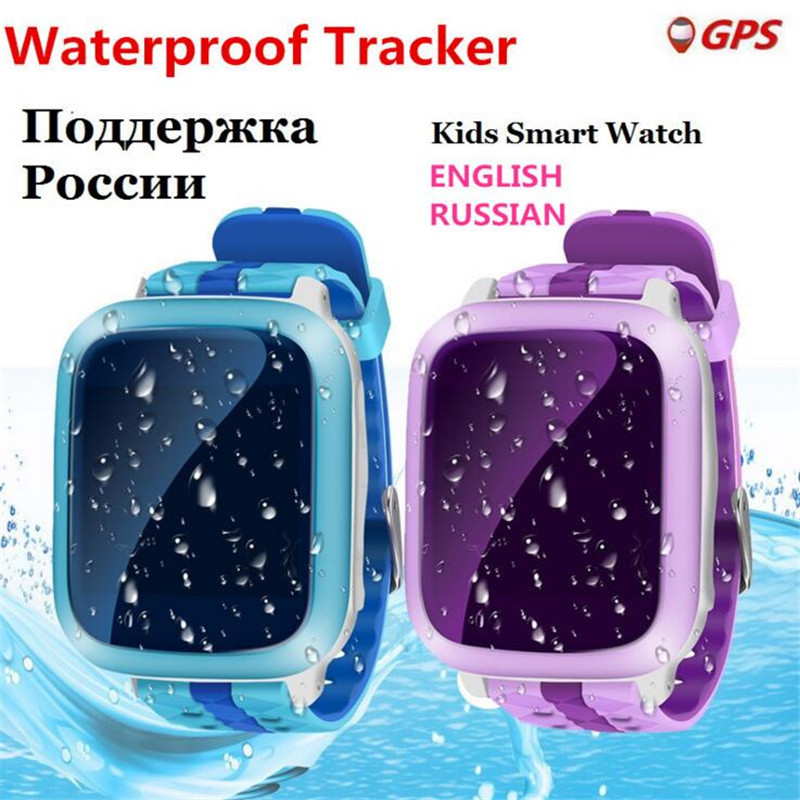 Children Smart Watch DS28 GPM GPS WiFi Locator Tracker Kid Wristwatch Waterproof SOS Call Smartwatch Child For iOS Android F33 2018 new gps tracking watch for kids waterproof smart watch v5k camera sos call location device tracker children s smart watch