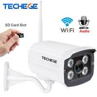 Techege MINI 1280 720P WIFI IP Camera Waterproof HD Network 1 0MP Wifi Camera Nignt Vision