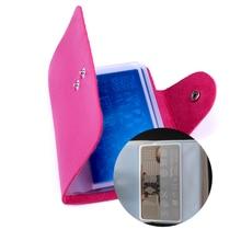20slots Rectangular Nail Art Stamping Plates Empty Template Case Holder Organizer for 6cm*12cm Stencil Album Storage