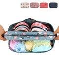 ¡ Venta caliente! accesorios de viaje portátil ultraligero impermeable de nylon calcetines de viaje bolsas de ropa interior recibe el bolso del organizador de la bolsa
